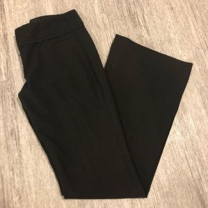 The limited Cassidy fit work pants black size 0